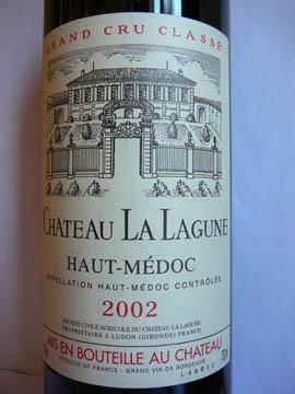 Château La Lagune, Troisième Grand Cru Classé, Haut-Médoc, 2002