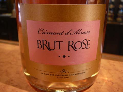 Crémant brut rosé