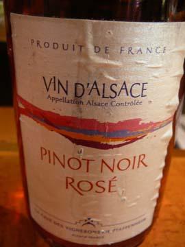 Rosé de Pinot Noir, Cave de Pfaffenheim, 2010