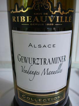 Gewurztraminer Collection, Cave de Ribeauvillé, 2010