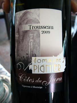 Trousseau Les Gauthières 2009, Domaine Pignier