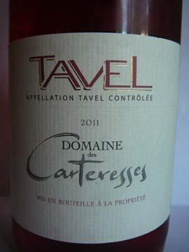 Tavel Domaine des Cartresses Rosé 2011