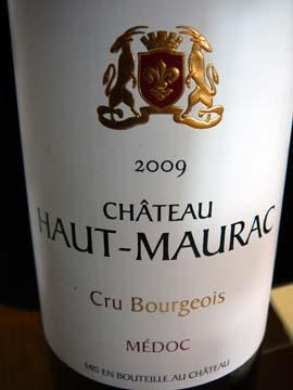Château Haut-Maurac 2009