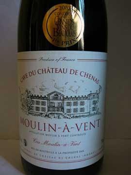 Moulin à Vent Tradition Château de Chénas 2009