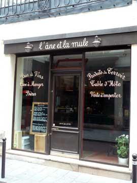 L'Ane et la Mule, Paris