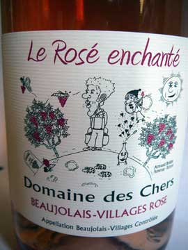 Domaine des Chers, Le Rosé Enchanté 2011