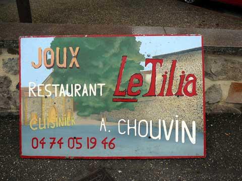 Le Tilia, Joux