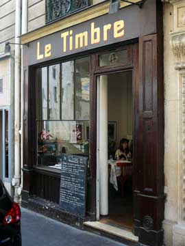 Le Timbre, Paris