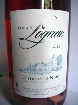 Domaine de Lognac 2012