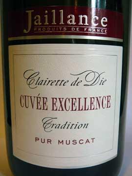 Clairette de Die Cuvée Excellence Jaillance