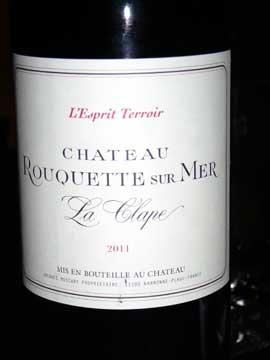 Château La Rouquette-sur-Mer, L'Esprit Terroir 2011chateau-rouquette