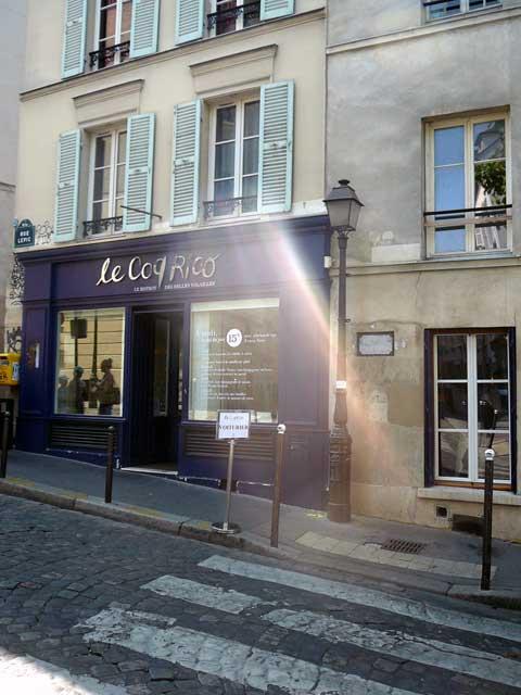 Le Coq Rico, Paris