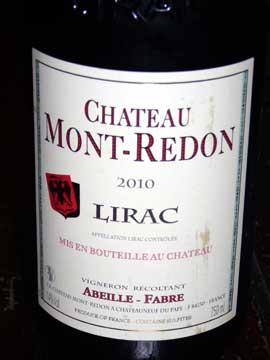 Lirac Mont-Redon 2010