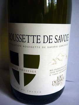 Jean Perrier et Fils Rousette de Savoie Cuvée Prestige 2011