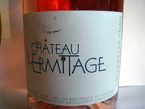 Château L'Ermitage Rosé 2013