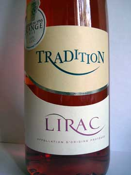 Rosé Tradition 2012 Cave de Lirac