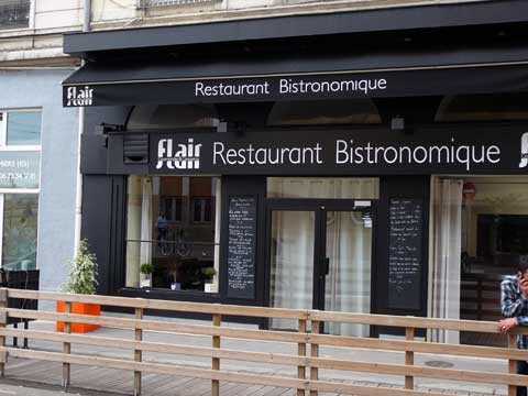 Restaurant Flair Gourmandise & Connivence, Lyon