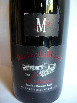 Domaine Le Malaven Lirac 2011