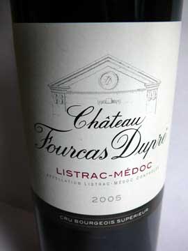 Château Fourcas Dupré 2005