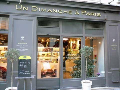 Un Dimanche à Paris, Paris