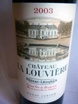 Château La Louvière 2003