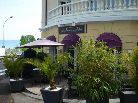 Restaurant Au Jardin d'Eden, Evian-les-Bains
