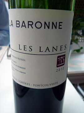 Les Lanes, Château la Baronne
