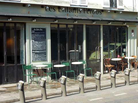 Restaurant Les Enfants Perdus, Paris