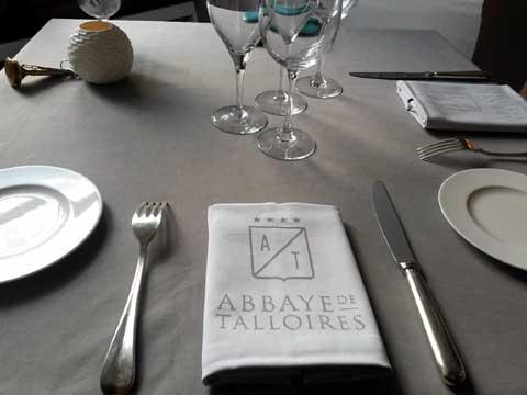 Restaurant Aux Jardins des Délices, Abbaye de Talloires