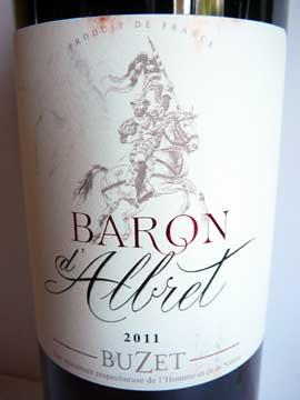 Baron d'Albret 2011