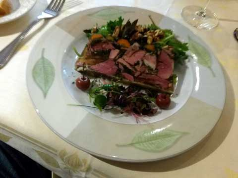 Restaurant Auberge des Gourmets, Le Villars