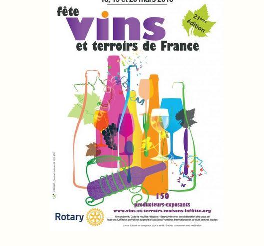 Vins et Terroirs de France, Maisons-Laffitte