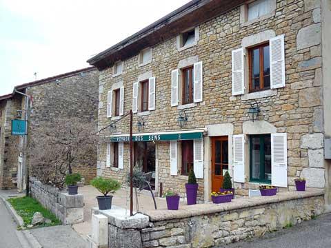 Restaurant le Voyage des Sens, Cuissat