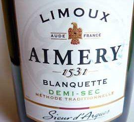 Blanquette de Limoux Demi-Sec Aimery