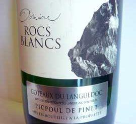 Domaine des Rocs Blancs 2014