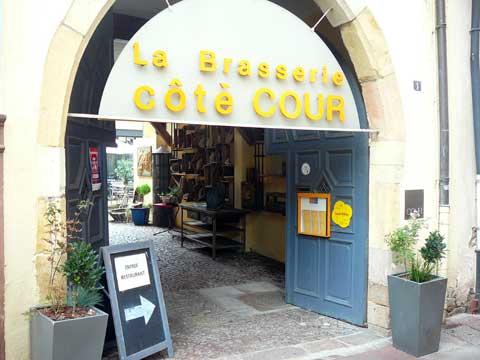 Restaurant Brasserie Côté Cour, Colmar