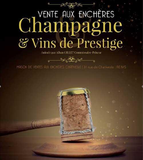 Vente aux Enchères : Champagnes & Vins de Prestige, Reims
