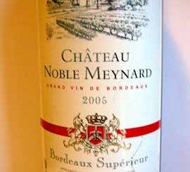 Château Noble Meynard 2005