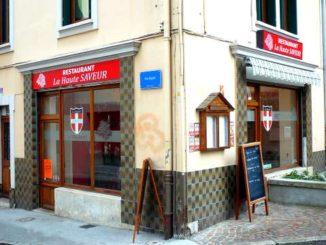 Restaurant La Haute Saveur, Evian