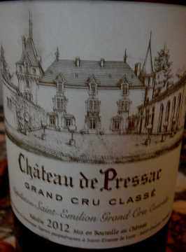 Château de Pressac 2012
