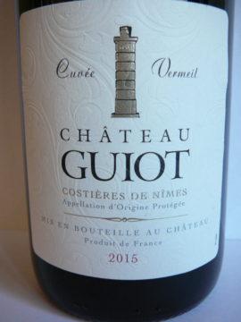 Château Guiot Cuvée Vermeil 2015
