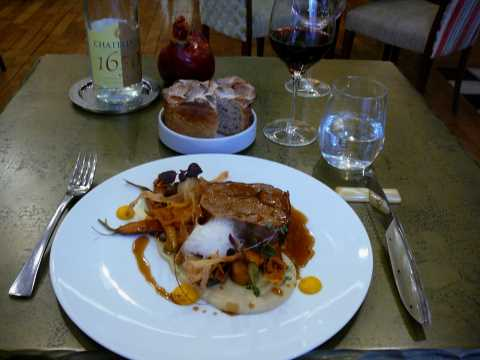 Restaurant Loiseau des Ducs, Dijon