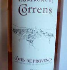 Vignerons de Correns Croix de Basson Rosé 2016