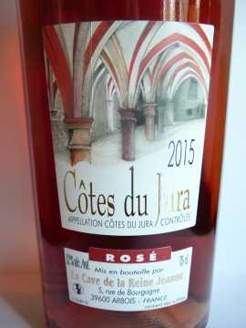 Côtes du Jura Rosé Cave de la Reine Jeanne 2015