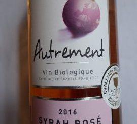 Syrah Rosé Autrement 2016, Gérard Bertrand