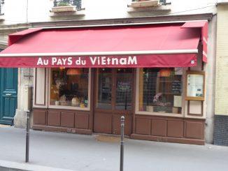 Restaurant Au Pays du Vietnam, Paris 14ème arrondissement