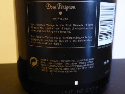 Dom Pérignon Vintage 2006