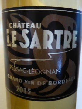 Château Le Sartre 2015